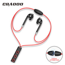 Wireless Bluetooth Earphone Headphone Sport high fidelity stereo super bass smartphone music headset with microphone(China)