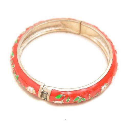 Vente chaude->@@ Wholesale10 PCS Superbe handmake Chinois En Émail Cloisonné Bracelet Manchette BRACELET-Top qualité livraison gratuite - 3