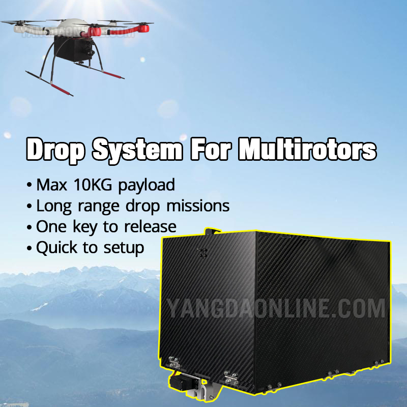 KUA PAYLOAD DROP SYSTEM FOR MULTIROTORS long range drop task police rescue emergency delivery 10Kg c