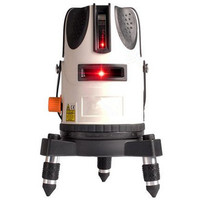5x Super Light Laser Level Infrared Laser 360 Degree Rotary Self Leveling Cross Laser 5 Lines