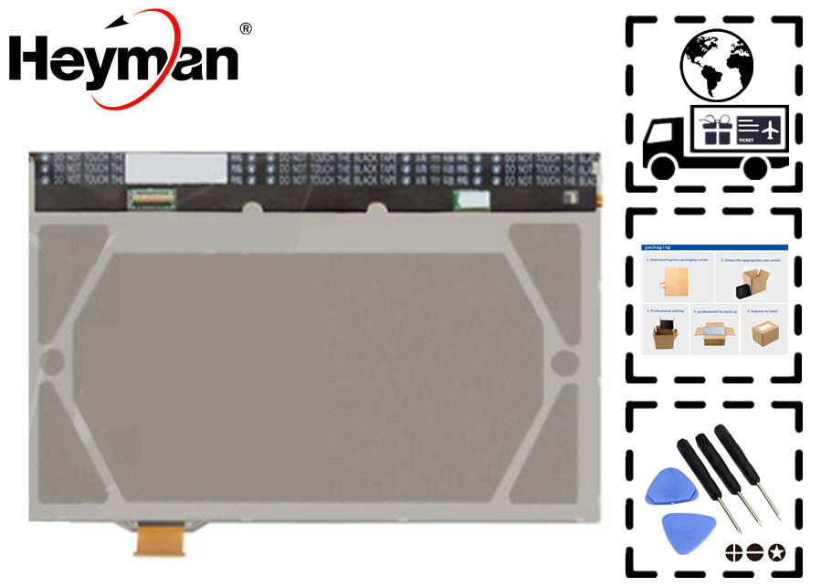 Heyman 10.1 inch LCD for Samsung N8000 Galaxy Note, N8010 Galaxy Note Tablets LCD display screen panel (without touch) for samsung galaxy note 10 1 n8000 n8010 new lcd display panel screen monitor repair replacement with tracking number