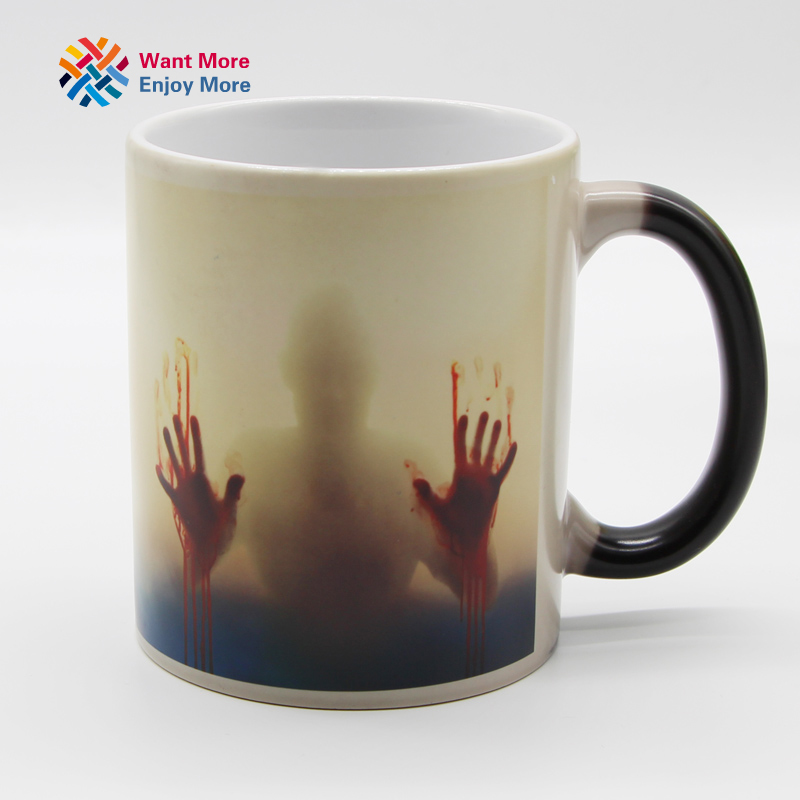 Color Changing Heat Sensitive Ceramic Coffee Mug 4