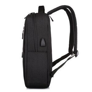 "Image 3 - 17 inch backpack plecak Backpack USB mochila 17"" pulgadas laptop 2019 Travel Backpack nylon Waterproof rugzak proof School Bag"