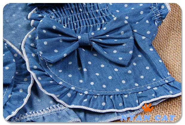 Children-Baby-Girls-Clothing-Polka-Dot-Mini-Dress-Cute-TUTU-Suits-Tops-Clothes-2Pcs-Sets-Denim-Outfits-Summer-1-2-3-Years-3