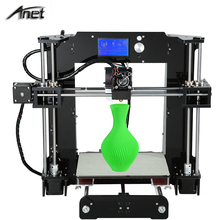 Full Arcylic 3D-Printer A6 Big Size 220*220*250mm Reprap Prusa i3 DIY 3D Printer Kit with Filament Aluminum Hotbed for free