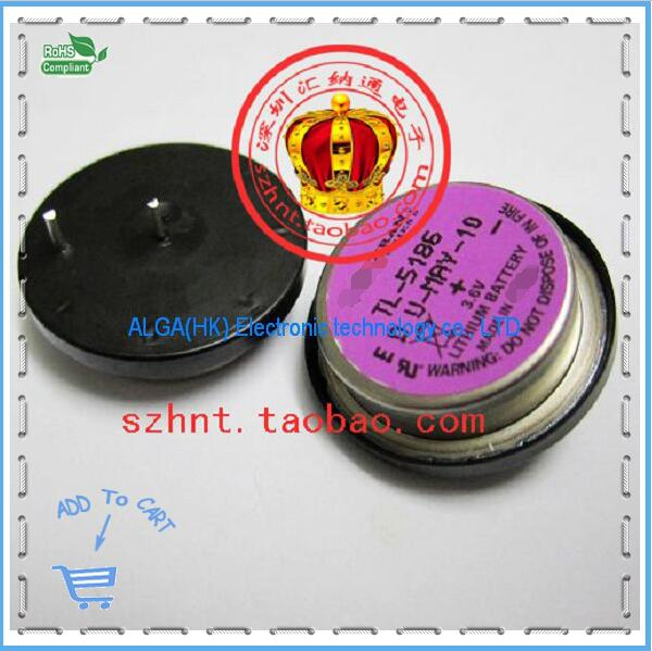 3.6V new original TL-5186 PLC Lithium Battery TL5186 and Free shipping .