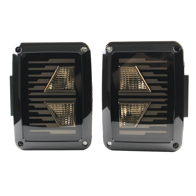 For Jeep Wrangler LED Tail Lights, For Jeep JK Brake Lights, For Jeep Wrangler Rear Reverse Lihgts DRL Turning signal Back UP