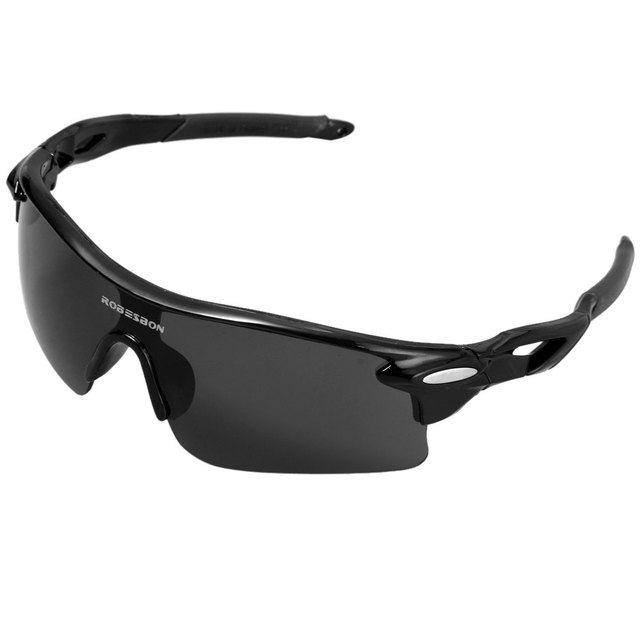 6ba16a2c52f ROBESBON Sports Sun Glasses Bicycle Climbing Eyewear Goggle PC Lens UV  Protection Eye Protector