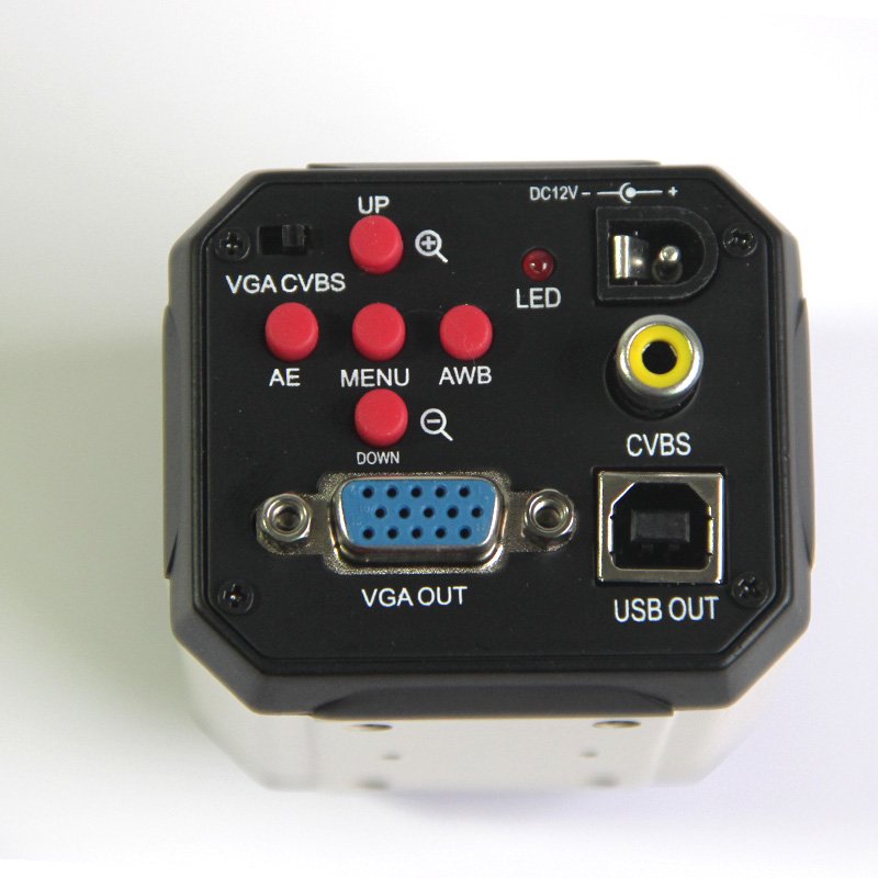 Lucky Zoom Marka 2.0MP HD Mikroskop cyfrowy aparat VGA USB AV - Przyrządy pomiarowe - Zdjęcie 4