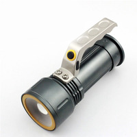 Flashlight 1200 T6 Torch 18650 Adjustable Zoom Torch Lamp Penlight Waterproof For Outdoor Miner's Lamp|LED Flashlights|   -