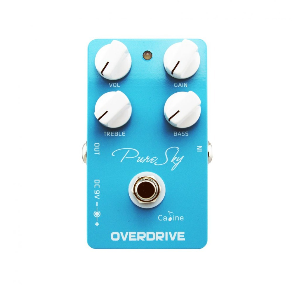 Pure Sky OD Guitar Pedals,Pure Sky,Guitar Pedal,Effect Pedal, highly pure and clean overdrive high quality Free shipping