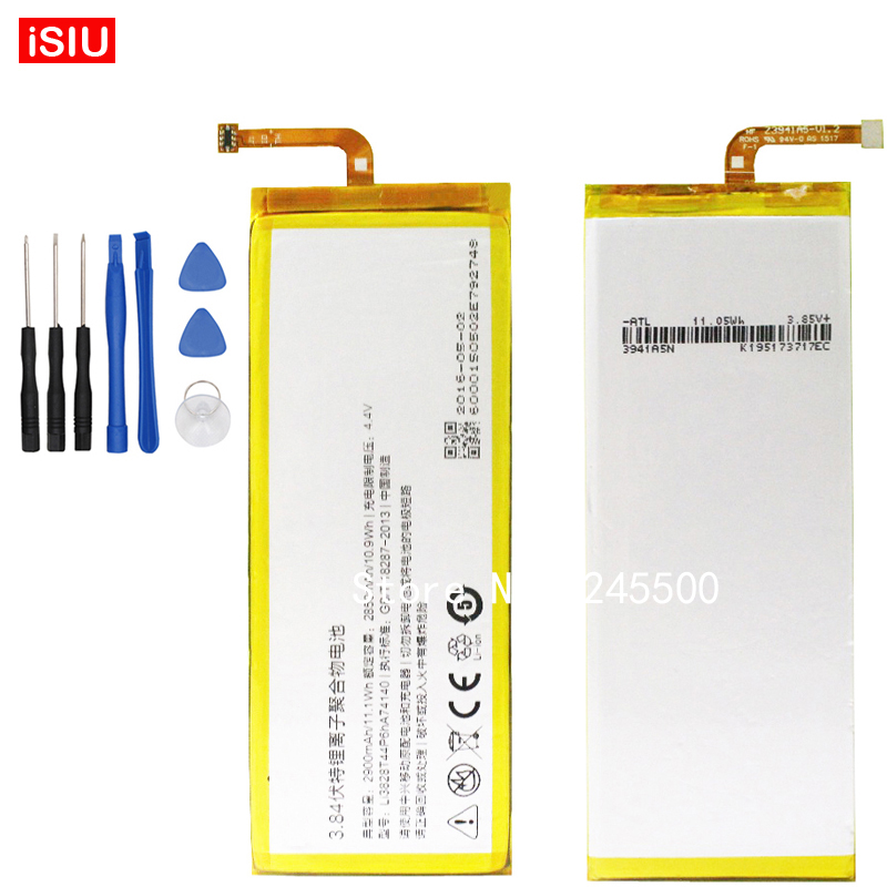 2900mAh For Nubia Z9Mini NX 511J Bateria Li3829T44P6HA74140 Battery For ZTE Nubia Z9 Mini NX511J + Tools