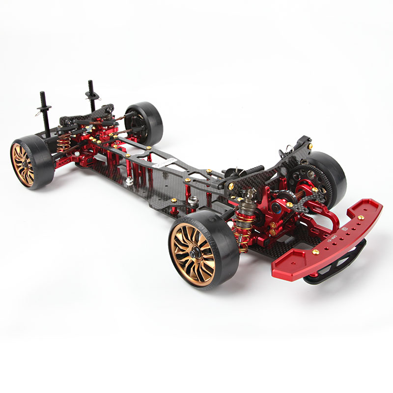 D1RC 1/10 Rear Drive Remote Drifting Car Frame Not include Car Shell Housing And Electronic Equipment DRR-01 d1rc drr 01 1 10 rear drive drift car vehicle carbon fiber chassis car accessories parts s128411