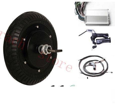 2 Wheel Electric Scooter Motor Kit ,8inch 350W 36V Hub Motor Wheel  ,electric Skateboard Motor