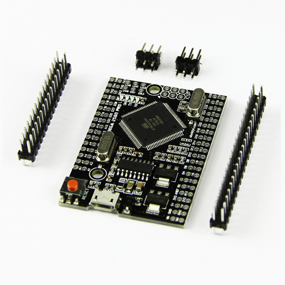1pcs Mega2560 Pro ATmega2560-16AU USB CH340G Intelligent Electronic Development Board #Hbm03751pcs Mega2560 Pro ATmega2560-16AU USB CH340G Intelligent Electronic Development Board #Hbm0375