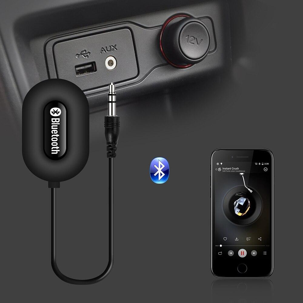 Livraison gratuite Sans Fil Voiture bluetooth récepteur De Voiture Bluetooth 3.0 récepteur Aux Usb 3.5mm De Voiture bluetooth mains libres kit