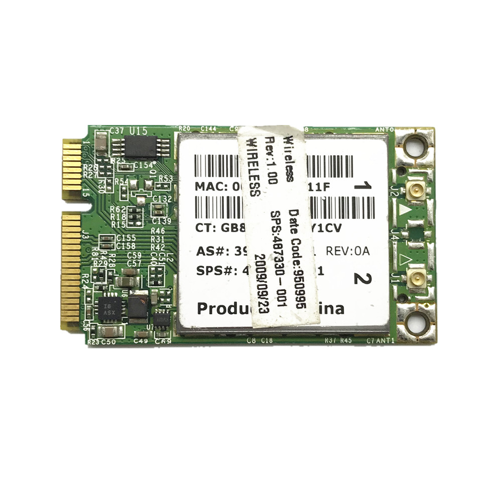 Broadcom BCM94322MC for HP 487330-001 Dual Band WIRELESS-N WIFI CARD replace AR9280 цена
