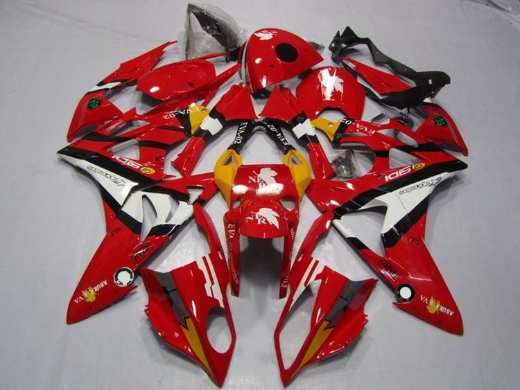 New ABS Fairings Fit For BMW S1000RR 09-14 1000RR 2009 - 2014 Injection Motorcycle Fairing Kit Bodywork set Nice Red image