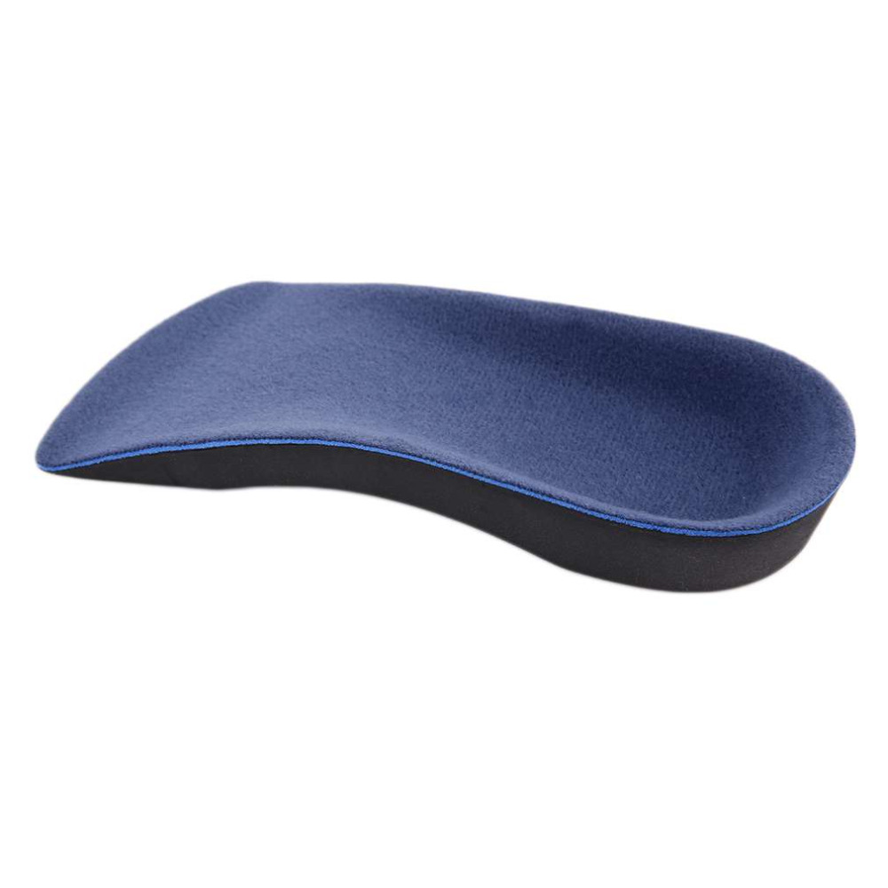 Men Women 3/4 Orthotic Sport Running Insole Insert Shoe Flat Feet Pad Support Cushion for Fitness L Size