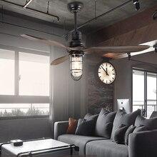 hot deal buy led e27 loft iron wood glass ceiling fan led lamp.led light.ceiling lights.led ceiling light.ceiling lamp for foyer