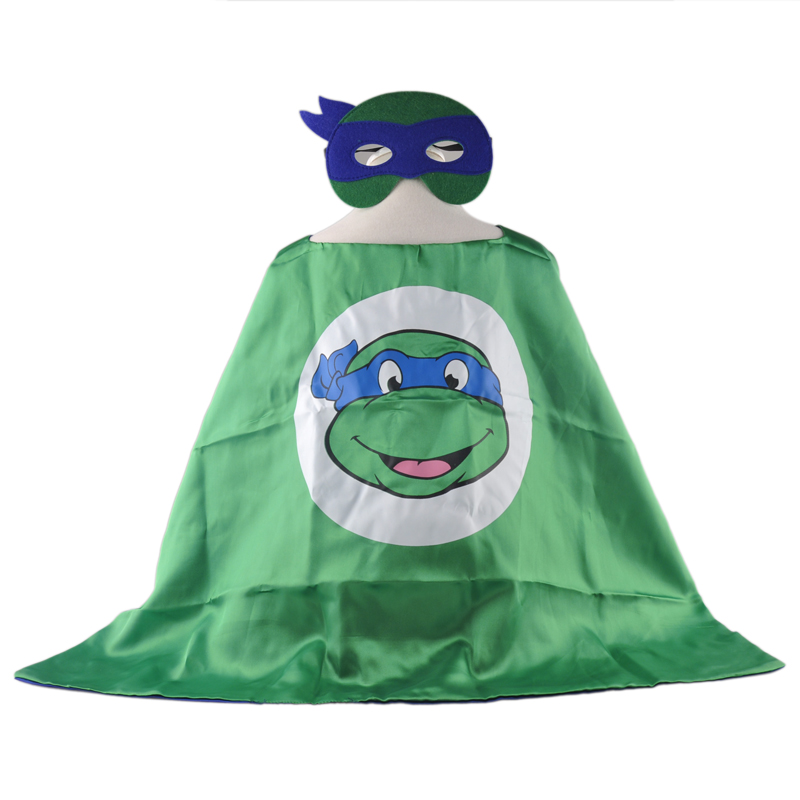 event party supplies costume teenage turtle turtles cape masks halloween fancy dress children kids capes birthday - Kids Halloween Masks