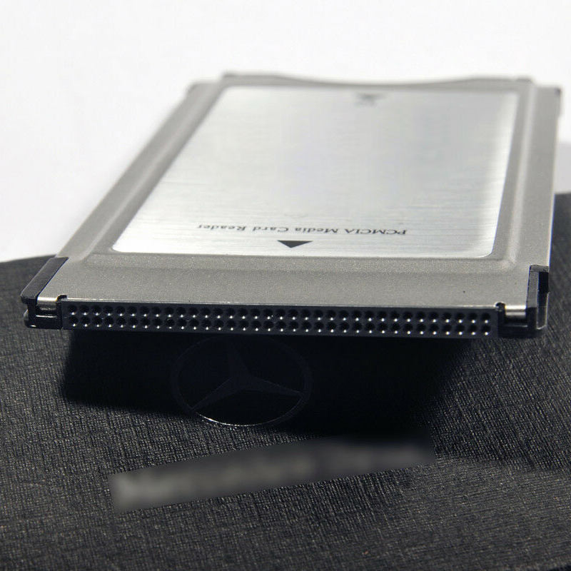 Dropshipping PCMCIA To SD Card SDHC CARD Adapter For Mercedes Benz S Class GLK SLK CLS E C E260 E300 Card Reader Freeshipping in Memory Card Adapters from Computer Office