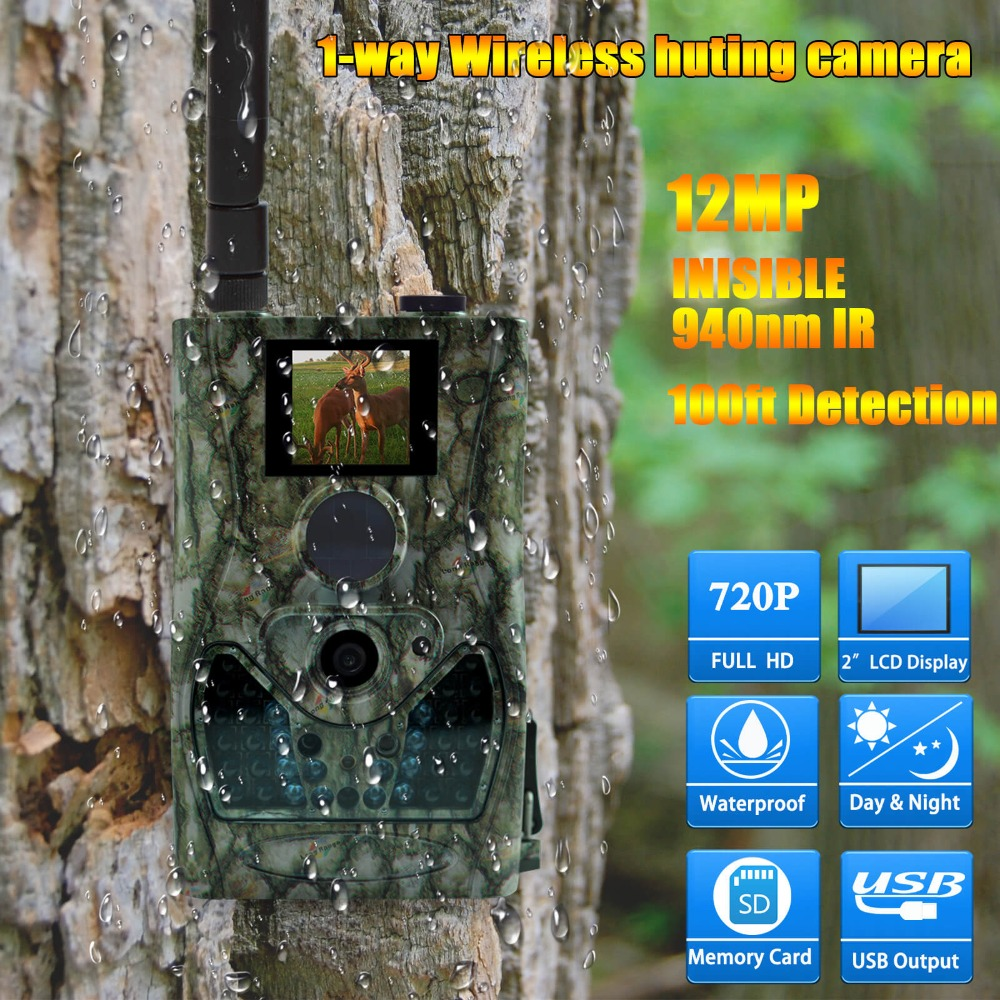 Bolyguard MMS/GPRS Outdoor Wildlife Trail Camera 720P HD Night Vision Hunting Camera fast trigger 85ft detection with 55 degree