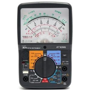 Image 3 - KT8260LDigital Analog Multimeter ACV/DCV/DCA/Electric Resistance Tester  + 2pcs Test Pen For Measurment Tools