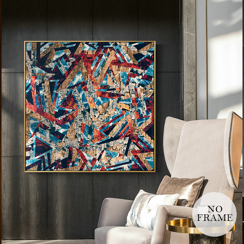 Picasso Abstract Oil Painting Printed On Canvas Posters And Prints Famous Color Wall Art Painting For Living Room Famous Decor