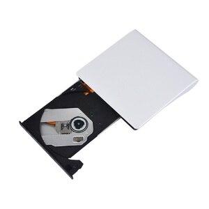 Image 5 - Nuovo Portatile Ultra sottile Esterno Unità CD Lettore DVD USB3.0 Esterno DVD Recorder Lettore CD ROM per Finestre IOS ecc
