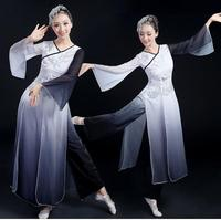 ZZB038 Adult Women S Chinese Yangko Dress Costume Chinese Classic National Lady Dancing Clothes Female Stage