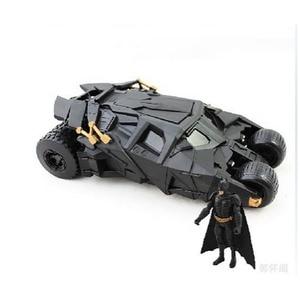 Image 3 - שני באחד מדהים באטמן כוס Batmobile צעצוע פעולה איור PVC עם מדבקת כמתנה