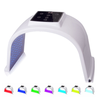 7 Colors LED Photon Light Therapy Lamp Skin Care Photon Rejuvenation Photodynamic Therapy Lamp Facial Mask Massage Machine