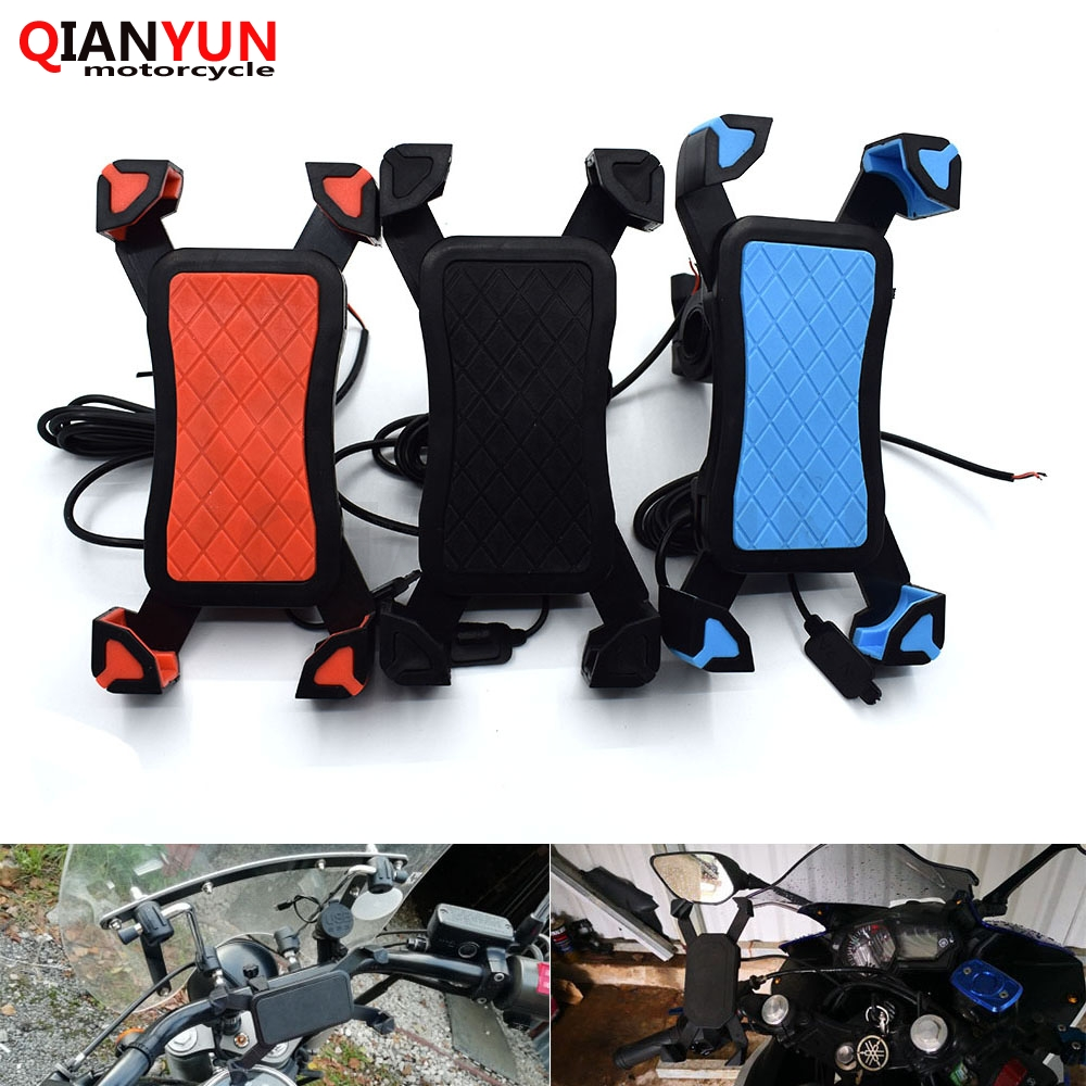 Back To Search Resultsautomobiles & Motorcycles Fashion Style Universal Motorcycle Phone Holder Mobile Stand For Moto Support Usb Charger Holder For Ktm 990 Superduke Rc8/r 690 Duke Structural Disabilities