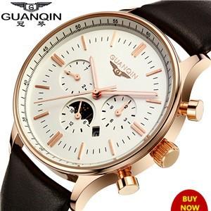 Relogio-Masculino-Original-GUANQIN-Fashion-Quartz-Watch-Waterproof-Leather-Watches-Men-Luxury-Brand-Gold-Wristwatches-