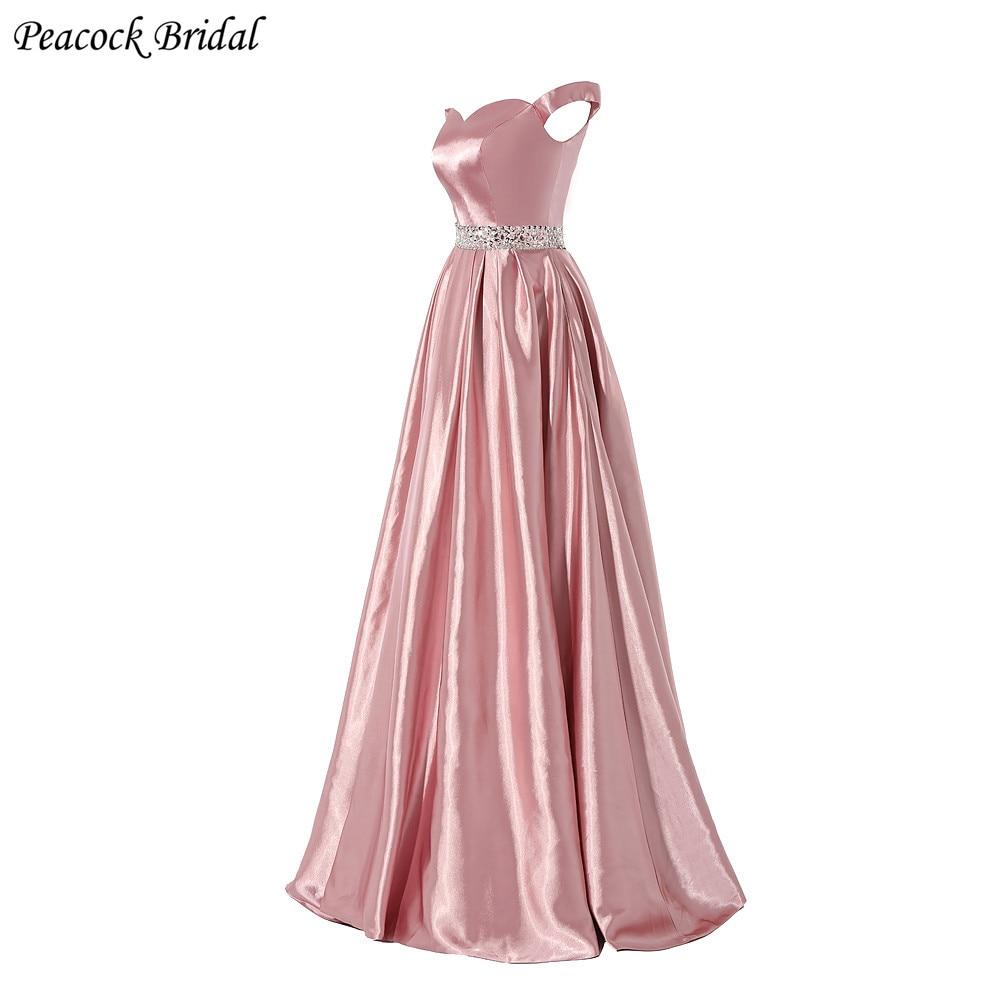 Hermosa Pavos Reales Vestidos De Fiesta Ornamento - Colección de ...