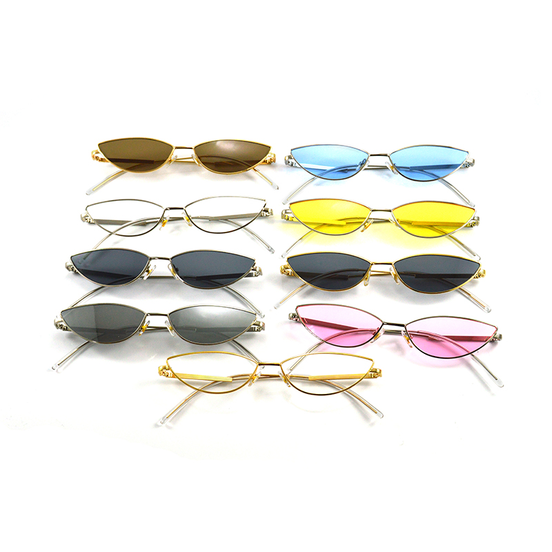 TASLLA Colorful Sunglasses Ladies Luxury Metal Comfortable Casual Summer Driving Outdoor Glasses Female Women Accessories 2019 in Women 39 s Sunglasses from Apparel Accessories