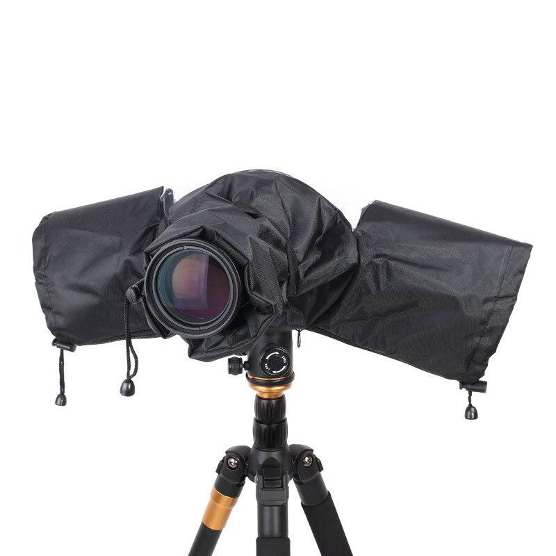 Professionnel Moyen Téléobjectif Caméra Rain Cover Manteau De Sac Protecteur Imperméable Étanche À La Poussière pour Canon Nikon Pendax