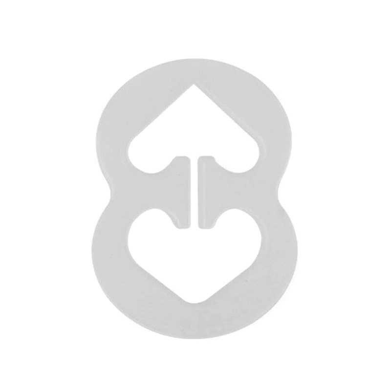 9 piezas de las mujeres Bra Correa Clip Anti-slip Invisible gancho hebillas para todo tamaño de copa KS-envío
