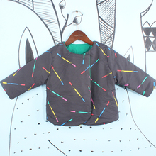 BOBOZONE  Magic wands reversible jacket Diamond sky reversible JACKET