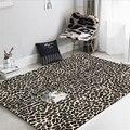 Модный современный европейский и американский ковер с леопардовым рисунком  ковры для гостиной  спальни  Нескользящие и против морщин ковр...