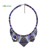 Women fashion bohemia necklace&pendants modern hippie vintage big name choker necklace tribal ethnic boho multicolor rope bijoux