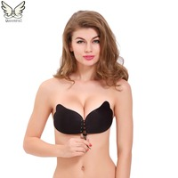 Push Up Bra Silicone Bra Lace Bralette BH Soutien Gorge Invisible Strapless Sexy Bras For Women