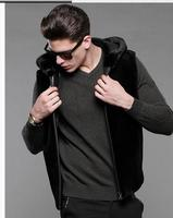S 3Xl Men Hooded Vests Male Faux Fur Vests Large Size Winter Antumn Sleeveless Manmade Fur