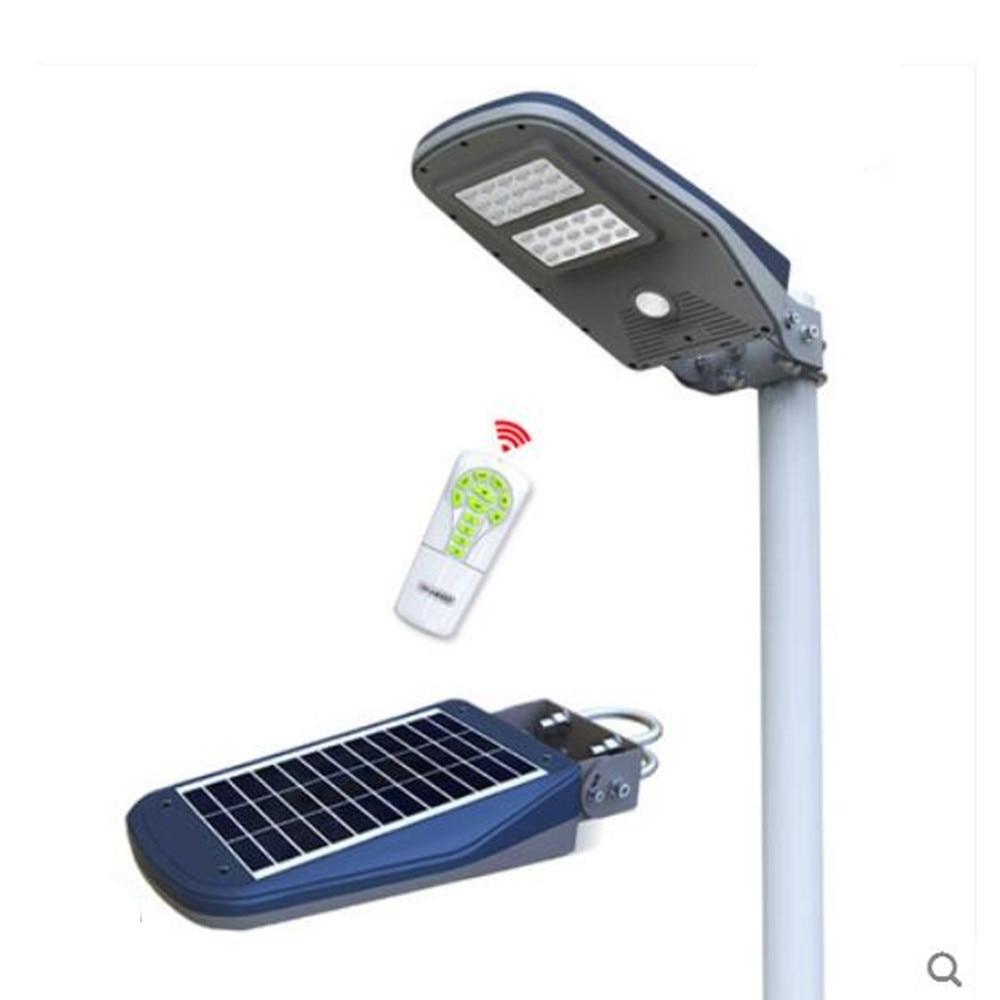 30 светодиодное солнечное Наружное освещение водонепроницаемый широкий угол безопасности лампа датчик движения с пультом дистанционного у