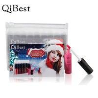 Qibest 2017 Makeup Maquiagem 9 Color Christmas Waterproof Matte Liquid Long Lasting Lip Gloss Qibest Lipstick