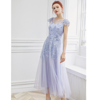 PIXY фиолетовый вечерние платье элегантный Для женщин платья партии взлетно посадочной полосы Длинные платья дизайнер высокое качество Винт