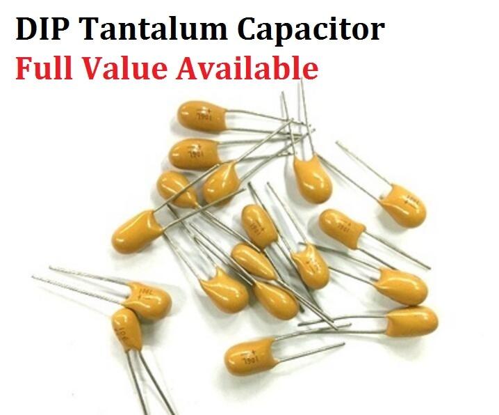 5PCS DIP Tantalum Capacitor 35V 0.1UF 35V 104L Capacitance 35V0.1UF 104 DIP Capacitors 0.1UF35V