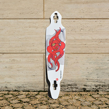 KOSTON pro carving style longboard deck with  8ply  canada maple  hot air  pressed, long skateboard decks for cruising purpose