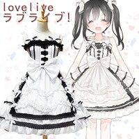 LoveLive Cosplay Lolita Dress Costume Nico Yazawa Costume Cosplay Halloween Stage Party Figure Cosplay Suit Drop Ship